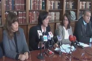 conférence de presse du syndicat des magistrats tunisiens