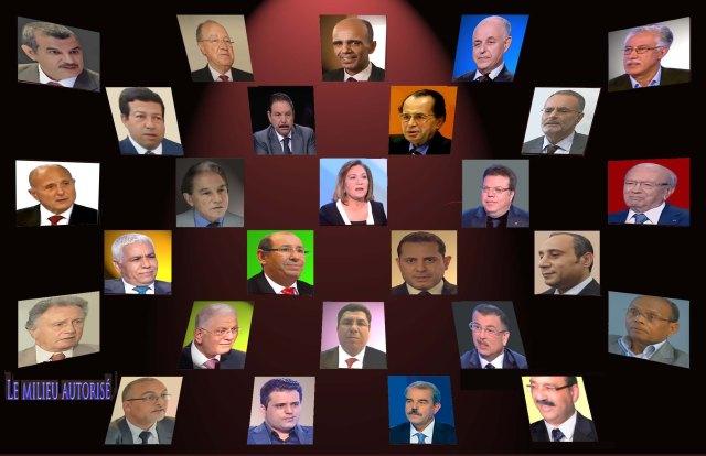 Candidats à la présidence de la république tunisienne