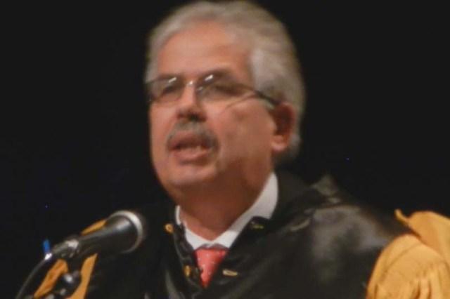 Habib Kazdaghli, doyen et professeur d'Histoire. Photo Le milieu autorisé ©