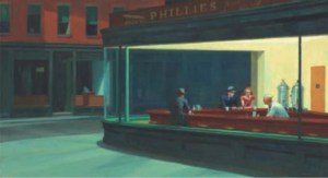 Nighthawks 1942 Edward Hopper
