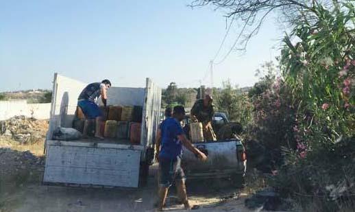 Venedeurs de carburant à la sauvette à Hammamet
